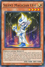 Silent Magician LV4 Common Limited Edition Yugioh Card LDK2-ENY14