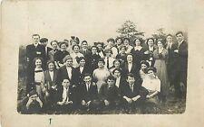 Mt Carmel PA High School Sophomore Class, Field Trip with Miss Lagan 1913