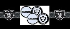 "Oakland Raiders Golf Ball Markers ""Great Gift Here"" 4 Pack Special"