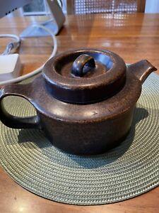 arabia finland ruska teapot