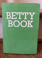 Green BETTY BOOK Journal Diary Betty & Betts LTD UK Made in India Handmade Blank