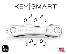 KeySmart Pro 95mm Compact Key Holder With LED Light Tile Smart App Track Key