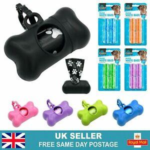 Dog Poo Bag Dispenser | Lead Attachment Bag Holder | Dog Poo Bags | Poop Bags UK