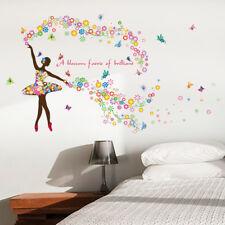 Wandtattoo Wandsticker Ballet Tänzering in den Sternen 87 x 120 W229