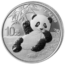 Silber Panda 2020 30 Gramm g Silver Argent China Chinese