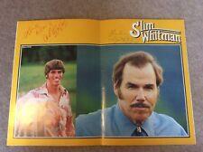 Rare Slim Whitman Autographed Concert Programme