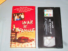 Un Air De Famille (VHS)(French) Jean-Pierre Bacri, Agnes Jaoui Testé