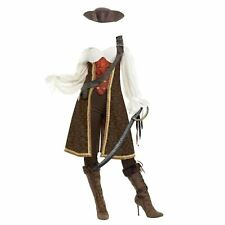 Smiffys Ladies High Seas Wench Pirate Costume World Book Day Fancy Dress