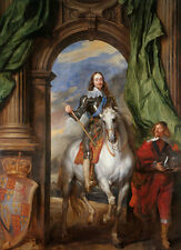 Charles I, 1600-49 with M. de St Antoine Anthonis van Dyck Adel B A3 00564