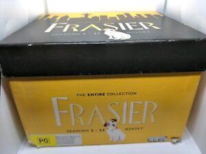 Frasier Complete Series Season 1-11 DVD Collection Boxset PAL AUS R4 VGC