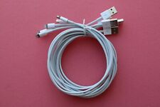 5x Genuine Apple iPhone iPad iPod touch iPod Nano Lightning To USB Cable (5M)
