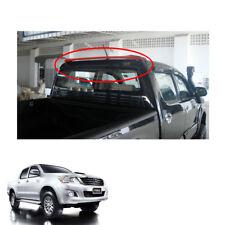 Rear Roof Spoiler Trim V3 Black Red For Toyota Hilux Vigo Champ Pickup 2011 - 14