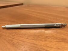 Rotring 600 Old Style Silver Ballpoint Pen Knurled Grip  In Box Mint  *