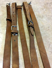 AK-47 SLING MILITARY SURPLUS AK LEATHER RIFLE SLING GOOD AK47 7.62x39 5.45x39