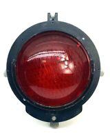 Vintage Safetran Railroad Crossing Red Signal Light