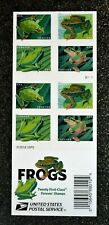 2019USA Forever Frogs - Booklet of 20  Mint