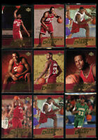 9 Lot 2003-04 Upper Deck Lebron James Lebron's Diary Rookie RC