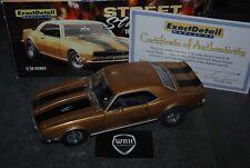 CHEVROLET CAMARO Z28 STREET STALKERZ gold Exact detail SEE INFO 1/18 SUPERB