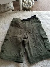 Boyscouts Of America Youth X Large Switchback Uniform Shorts Olive Green