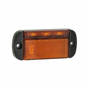 LED Autolamps 44AME led Amber Side Marker Lorry Trailer Truck Lamp 12/24v