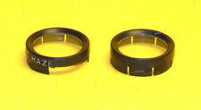 Two (2) original UV Filters for White Realist Model 1041 Stereo Camera