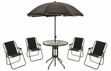 Dining Set Up to 4 Seats Garden & Patio Furniture Sets with 6 Pieces