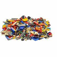 500 Teile Lego System Steine Kiloware bunt gemischt 0,70 kg z.B. Fenster Räder