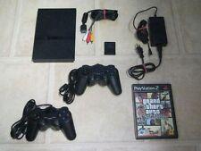 Playstation 2 Slim komplett mit 2 Controller + Spiel GTA San Andreas