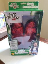 The Wizard of Oz Dorothy Child Shoes New In Box Red Sequin Shoes Medium 13-1