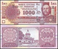 Paraguay 1,000 (1000) Guaranies, 2005, P-222b, UNC