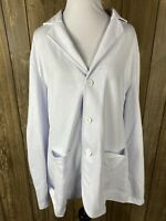 Coofandy Womens White Blazer Size Large With Pockets