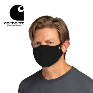 3 PACK Carhartt 105160 Cotton ear-loop Breathable Workwear FACE MASK A46-5160