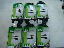 25' 16/3 Green Outdoor Extension cord, lot of 6.