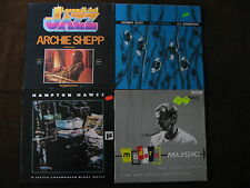 4 LP Archie Shepp Jerry Coker Hawes Johnson Germany UK Italy 70s/80s   M- to EX