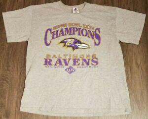 Baltimore Ravens Super Bowl XXXV Champions T Shirt