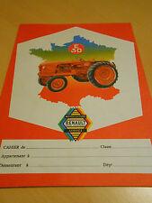 protège cahier tracteur RENAULT E 30 années 60