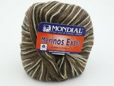 2 Balls of Mondial Merinos Extra Printed Yarn Color 955