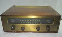 Fisher Model 101-R AM-FM Tuner==Nice Original w/ Cabinet!