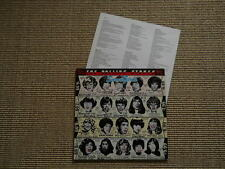 Rolling STONES SOME GIRLS-OIS & insert with lyriks-LP-Slavati/lavato