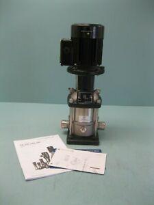 "1"" PJE Grundfos CRN1-6 Centrifugal Pump 3/4 HP Motor NEW P3 (2672)"