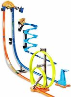 Hot Wheels Track Builder Vertical Launch Set 50 Inches High 3 Stunt Configuratio