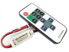 Mini Controller Bobina Led Mono Colore Dimmer Con Telecomando Wireless 12V 24V 7