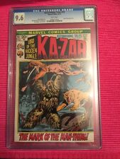 Ka-zar Kazar 13 CGC 9.6 1972 Early Man Thing Appearance Man-Thing Awesome Color!