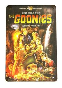 New The Goonies Tin Metal Poster Sign Man Cave Home Movie Theater Classic Film