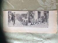 a2a ephemera 1918 ww1 picture british sailors p o ws arrive hull van donop