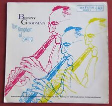 BENNY GOODMAN ORIG LP FR  THE KINGDOM OF SWING