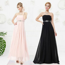 Chiffon Casual Strapless Dresses for Women