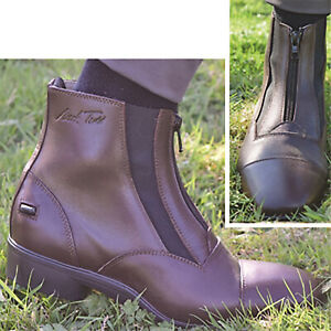 Mark Todd Timaru Dual Elastic Short Boot/Jodhpur Boot/Riding Boot Brown EU40/6.5