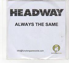 (FB776) Headway, Always The Same - 2004 DJ CD