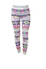 Tattoo SEÑORA LEGGINS fashion vomite pantalones colorido colores mundo talla única